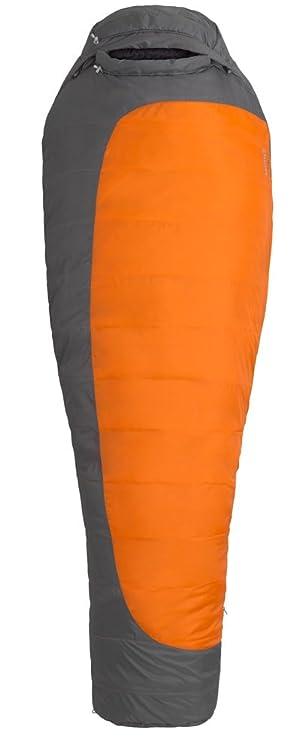 Marmot Trestles 0 Synthetic Sleeping Bag-Long-Left Zip/Orange Haze/Dark Rust