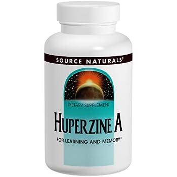 Source Naturals Huperzine A 200mcg (Huperzia Serrata) Herbal Supplement - Powerful Nootropic - 120 Tablets