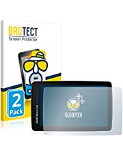BROTECT 2x Antireflecterende Beschermfolie compatibel met BMW Motorrad Navigator VI Anti-Glare Screen Protector, Mat, Ontspiegelend
