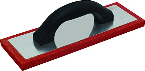 Marshalltown RRF124F 12 x 4-Inch Red Rubber Float, Fine - Rubber Trowel