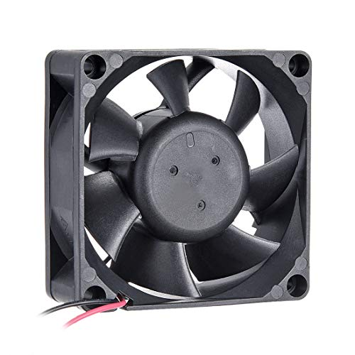 - uxcell SNOWFAN Authorized 70mm x 70mm x 25mm 12V Brushless DC Cooling Fan #0309