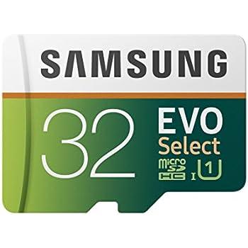 Samsung 32GB 95MB/s (U1) MicroSD EVO Select Memory Card with Adapter (MB-ME32GA/AM)