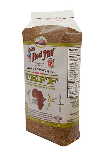 Bob's Red Mill Whole Grain Teff, 24 Ounce Packages (Pack of 4)