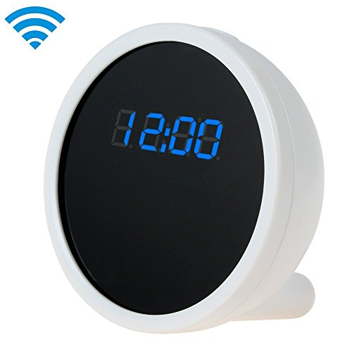 UPC 740977075716, Full HD 1280 x 720 Alarm Clock WIFI Camera with Real Time View Function