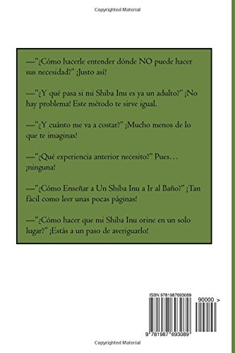 Como Hacer que Mi Shiba Inu Orine en un Solo Lugar (Spanish Edition): Marcos Mendoza: 9781987693089: Amazon.com: Books