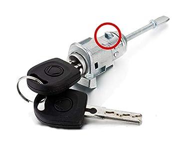 3563d40ce Kit Cerradura + Barillet Puertas Delantera Derecha Seat Ibiza Cordoba  Toldeo Leon + Llaves 6l3837167/168B @ pro-plip: Amazon.es: Electrónica