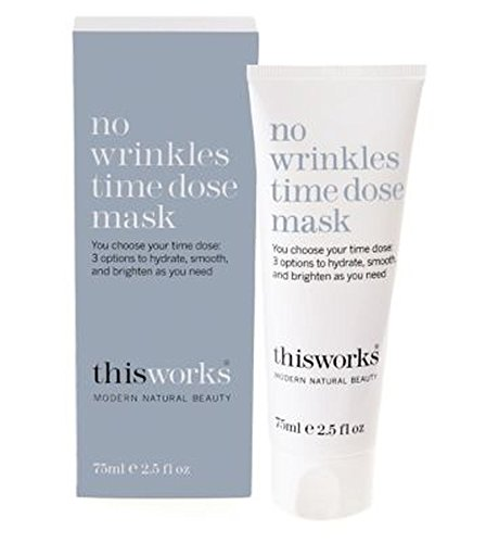 This Works No Wrinkles Time Dose Mask 75ml - これにはしわ時間線量マスクの75ミリリットルの作品はありません (This Works) [並行輸入品]   B01MDUZYJM