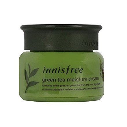 Innisfree The Green Tea Moisture Cream 1.69 Oz/50Ml