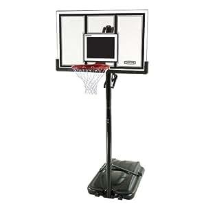 Lifetime 71524 XL Height Adjustable Portable Basketball System, 54 Inch Shatterproof Backboard