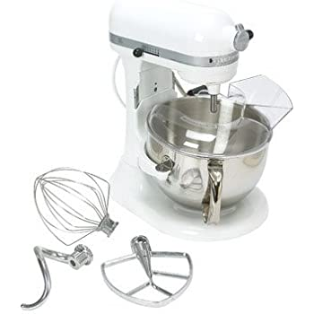 M KitchenAid Professional 600 Series KP26M1XER BowlLift Stand Mixer 6 Quart  Meringue