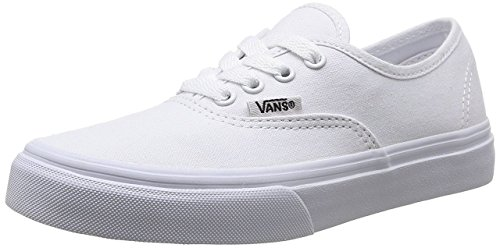 Vans Authentic Classic Sneakers (Infant/Toddler) True White 2 M US Infant - Baby Sneakers Vans