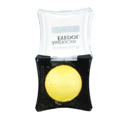 Nice 1 Kleancolor American Eyedol SES07-Matte_Yellow Wet Dry Baked Eyeshadow + Free Earring supplier