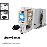 AWO SP.8VH01GC01 / BL-FP190E Premium Quality Projector Lamp Bulb with Housing For OPTOMA HD141X EH200St GT1080 HD26 S316 X316 W316 DX346 BR323 BR326 DH1009