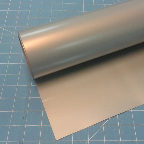 "ThermoFlex Plus 15"" x 5' Roll Antique Silver Heat Transfer Vinyl from ThermoFlex Plus"