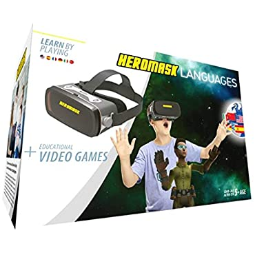 Heromask - Gafas realidad virtual + Juego para aprender idiomas