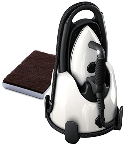 Laurastar Lift Steam Iron - Pure White + Soleplate Cleaning Mat Bundle by Laurastar