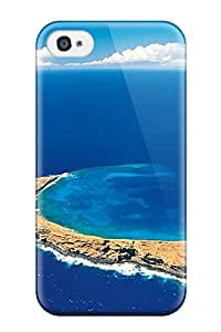 Phone Case Awesome Case Cover Compatible With Iphone 4/4s - Molokini Crater