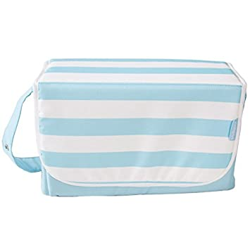 My Babiie Blue Stripes Changing Bag