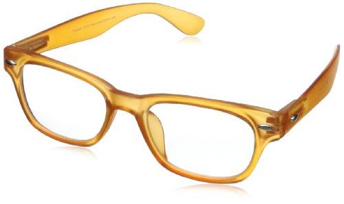Peepers Rainbow Bright Fashion Retro Eyeglasses,Orange,45 - Glasses Eyes Bright