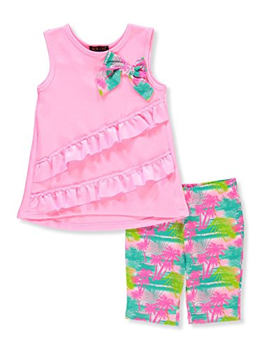 New Chic Little Girls' Toddler 2-Piece Outfit - Pink/Multi, 2t