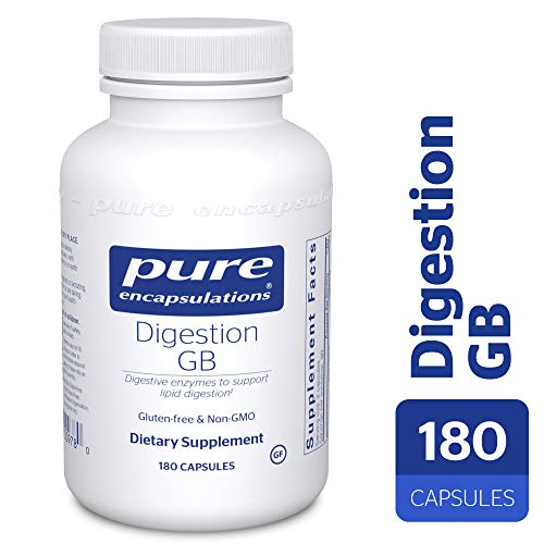 Pure Encapsulations - Digestion GB - Digestive Enzyme Formula with Extra Support for Gall Bladder Function and Fat Digestion* - 180 Capsules