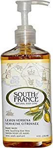 South of France Lemon Verbena Hand Wash with Soothing Aloe Vera, 8 oz (236 ml)