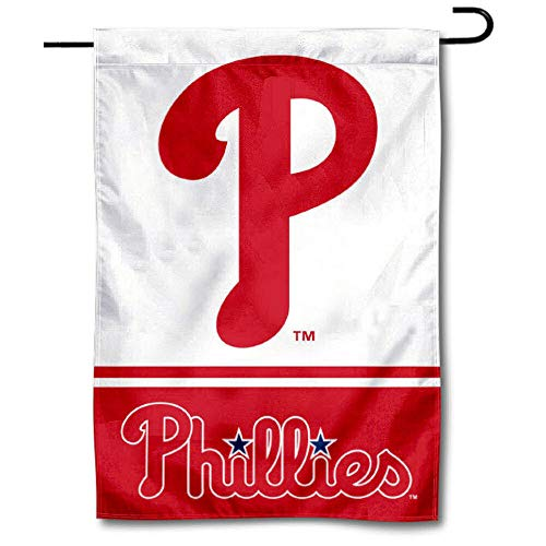 WinCraft Philadelphia Phillies Double Sided Garden Flag