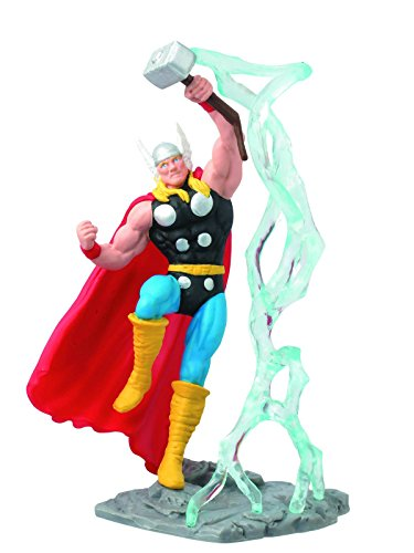 Marvel Series Collectible Diorama Blind Mystery ~ Thor PVC Figure (Opened to Identify)