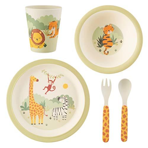 Sass & Belle Savannah Safari Tableware Set