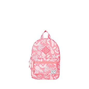 Herschel Supply Co. Heritage Kids Backpack, Aloha Georgia Peach Rubber