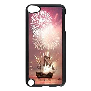 Brilliant fireworks Cheap Custom Cell Phone Case Cover for iPod Touch 5, Brilliant fireworks iPod Touch 5 Case