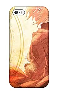 Defender Case With Nice Appearance (edward Full Metal Alchemist) For Iphone 5/5s Sending Free Screen Protector