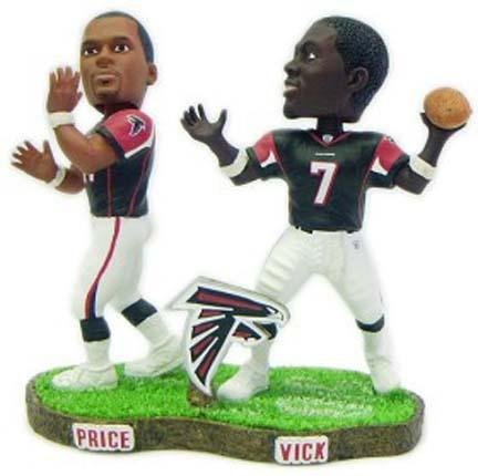 Atlanta Falcons Vick & Prix Forever Collectibles Bobble Mates