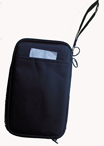 Chillpack Double Bag Diabetic Travel Organizer Cooler Bag for Insulin, Supply Kits with 2 x ice Pack Included, Black by Chill Pack (Image #2)
