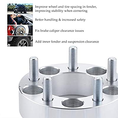 Orion Motor Tech 2pc Wheel Spacers/Adapters   5 Lug 5x4.5 / 5x114.3-1