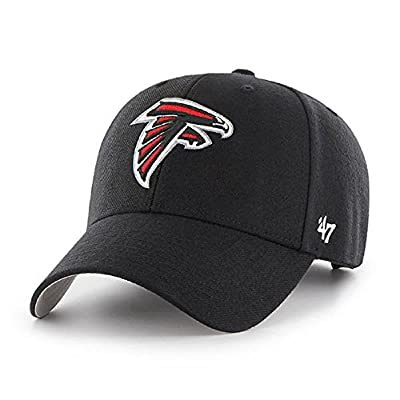 Atlanta Falcons NFL 47 Brand Basic Black MVP Adult Men's Adjustable Hat Cap by 47