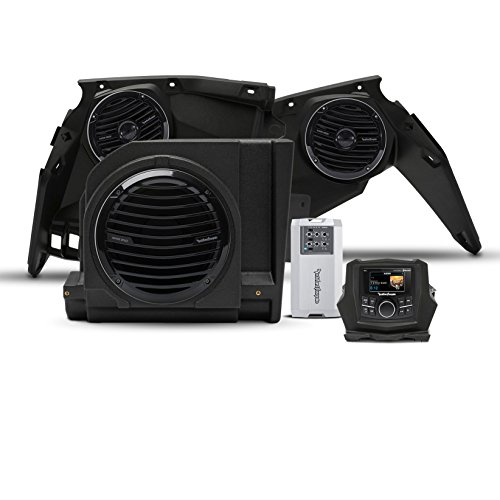 Rockford Fosgate X3-Stage3 400 watt stereo, front speaker, and subwoofer kit for select Maverick X3 models