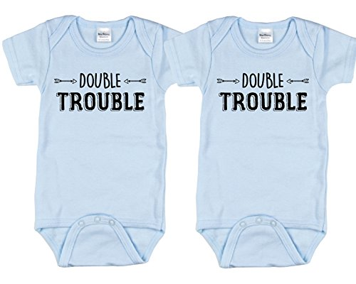 Nursery Decals More Twin Bodysuits