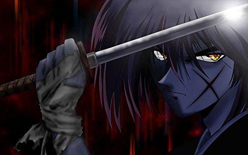 (Tomorrow sunny Rurouni Kenshin Classic Japan Anime Movie Silk Poster Wall Decor 24*36