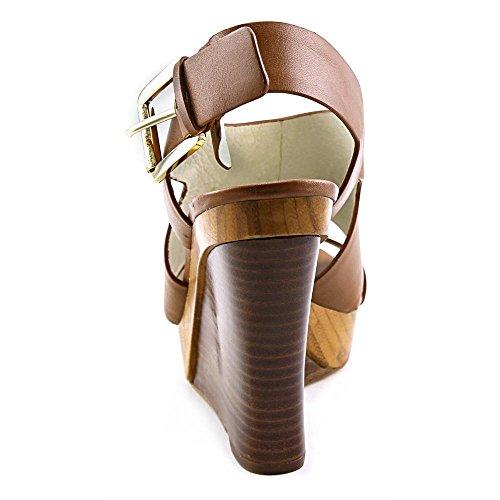 Michael Michael Kors Carla Platform Wedge Tessile Sandalo con la Zeppa