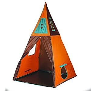 """Pacific Play Tents Kids Giant Teepee Tent - 60"""" x 60"""" x 96"""""""