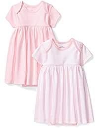 Baby Girls' Set of 2 Organic Short-Sleeve Dresses
