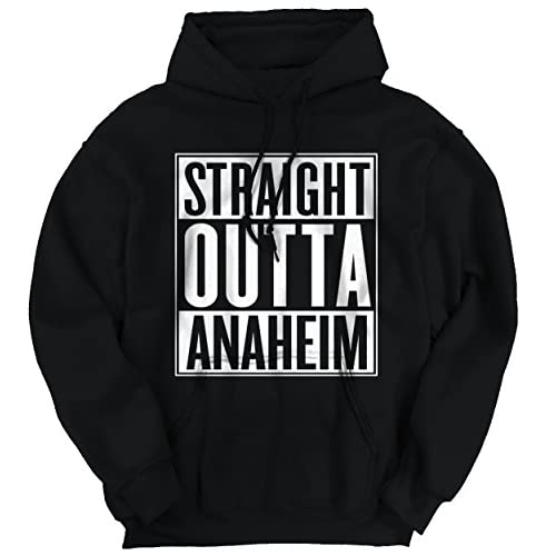 New Classic Teaze Straight Outta Anaheim, CA City Funny Movie T Shirts Gift Idea Hoodie Sweatshirt free shipping