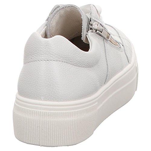 2 Women's White Superfit 08 Lace Flats up 00911 65cqwxq4dg