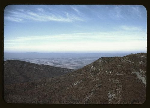 Photo: View,valley,mountains,landscapes,Skyline Drive,VA,Virginia,Jack - Va Valley View