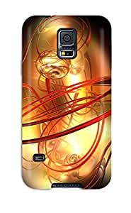 Premium Durable Fractal Fashion Tpu Galaxy S5 Protective Case Cover