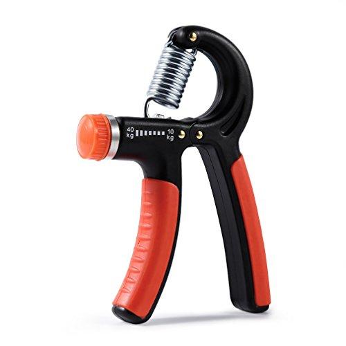 LESHP Hand Gripper,10 40KG Range Adjustable Resistance Therapy Hand Strengthener Exerciser Trainer for Athletes Musicians