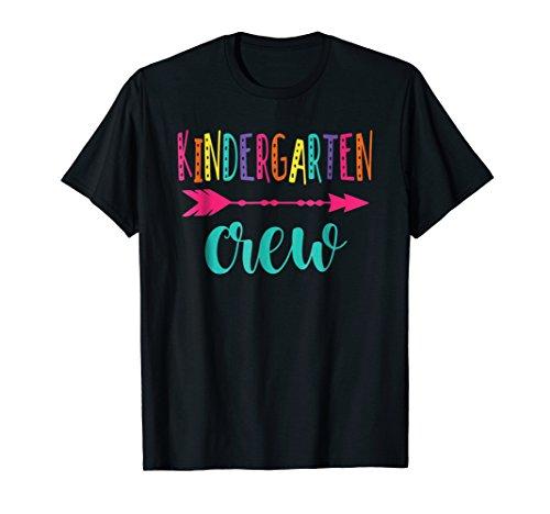 Kindergarten Crew T-shirt Back to School Teacher - Kindergarten Tshirts Teacher