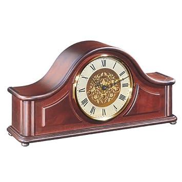 Hermle Acton Mecanique Traditionnel En Bois Horloge De Cheminee Avec
