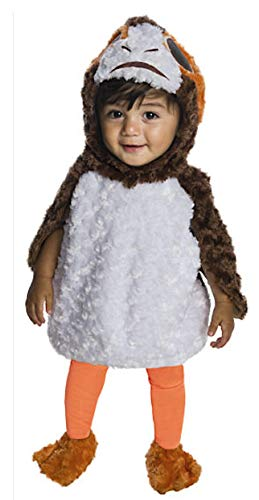 Rubie's Kid's Star Wars Episode VIII Last Jedi PORG Costume Baby Costume, Color As Shown, Infant